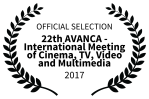 OFFICIAL SELECTION - 22th AVANCA - International Meeting of Cinema TV Video and Multimedia - 2017